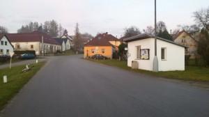 u občerstvovací stanice v Ratiboři